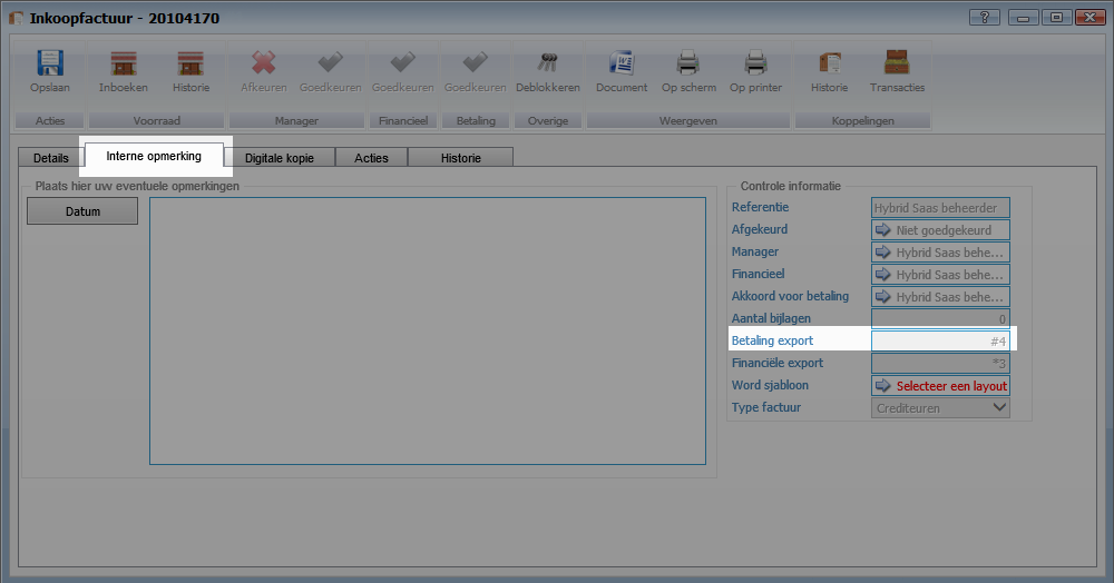 E-mailadres instellen bij e-mailsjabloon